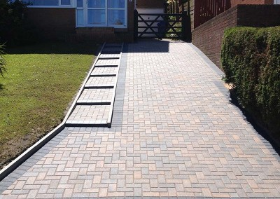Drive Transformed with block paving