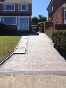 Transformation of a drive by using quality block paving